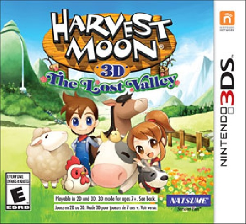 لینک بازی harvest moon the lost valley برای citra
